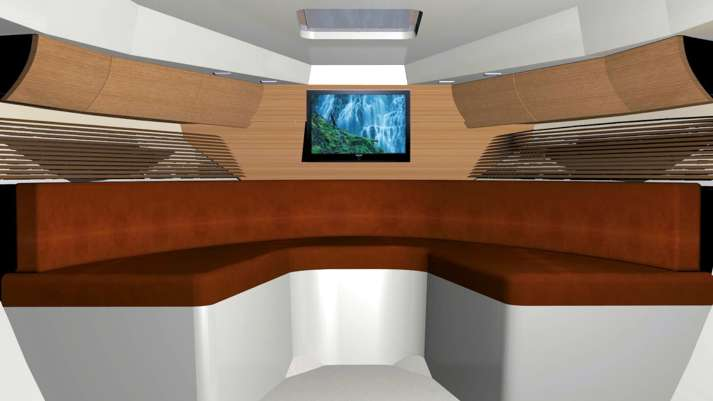 Interior Italmar 28 Cabin
