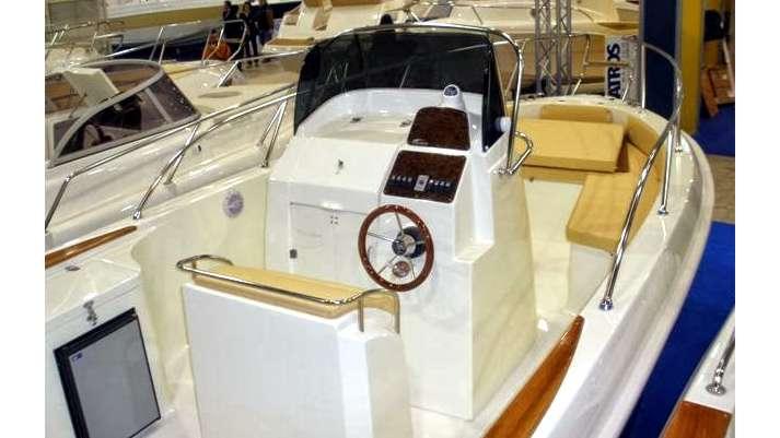 Italmar 23 Cockpit